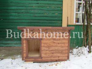 фото утепленная собачья будка дачная