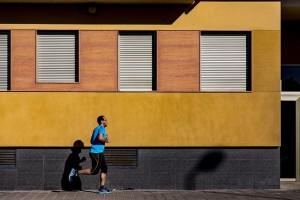 фото пробежка