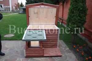 фото будка собаки с откидной крышей