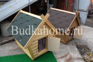 фото будка с дверью и силиконовой шторкой