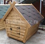 фото двери для собачьей конуры