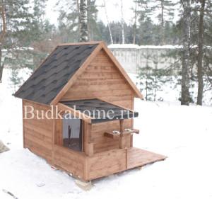 зимняя будка для собаки4