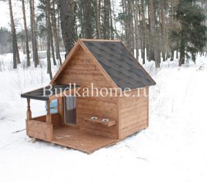 зимняя будка для собаки2