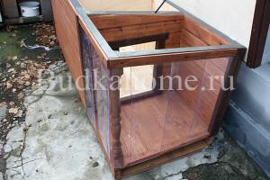 фото будка с силиконовой шторкой
